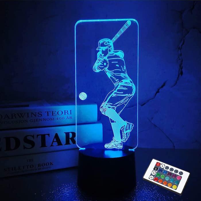 Baseball 3D Night Light