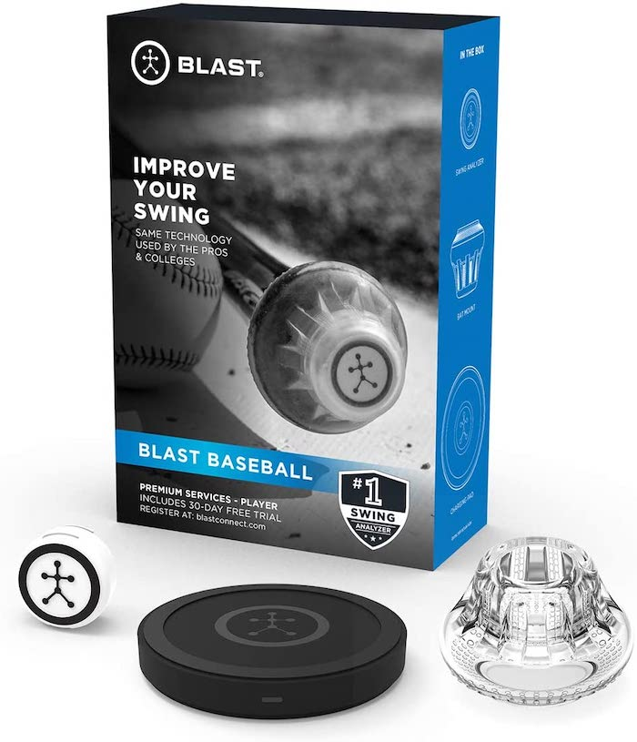 Blast Baseball Swing Analyzer Compatible with iOS & Android