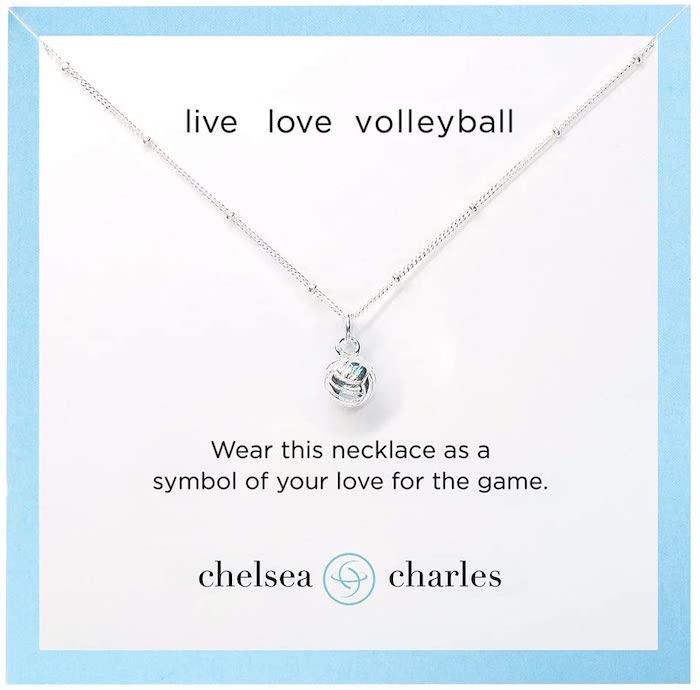 Chelsea Charles CC Volleyball Necklaces