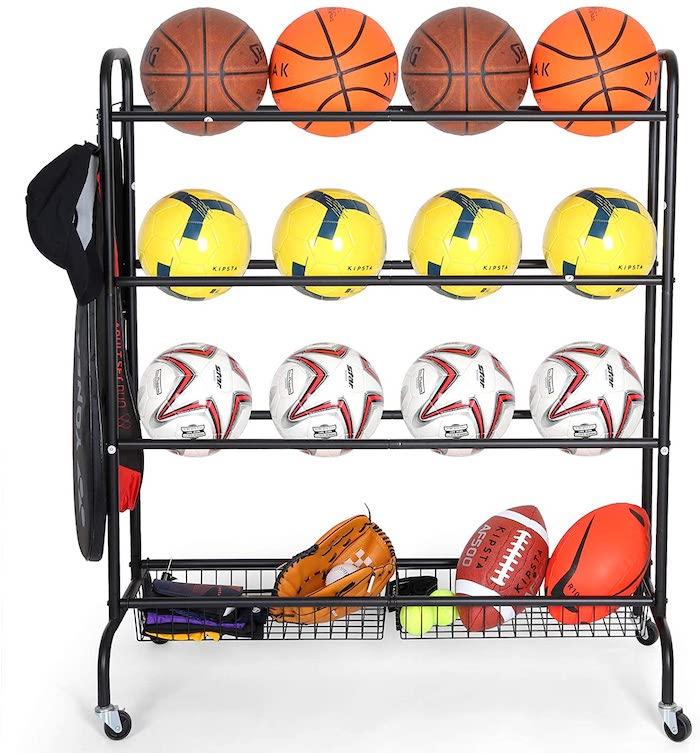 EXTCCT Basketball Rack