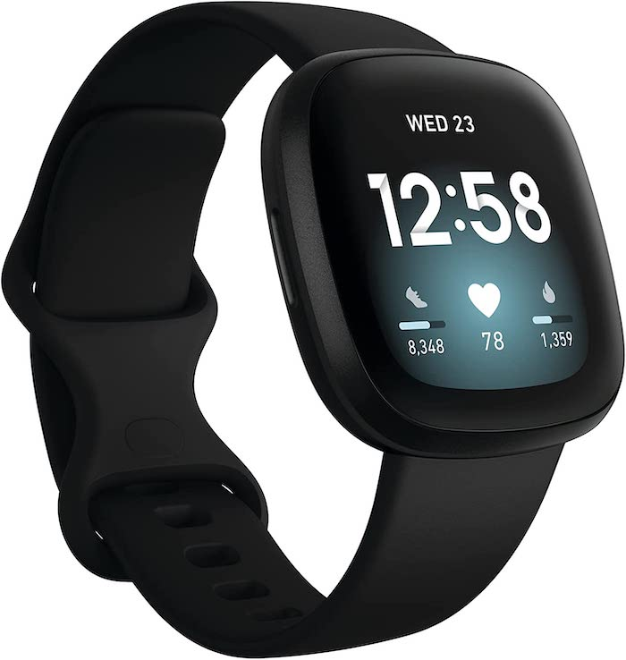 Fitbit Versa 3 Health & Fitness Smartwatch with GPS, 24:7 Heart Rate, Alexa Built-in