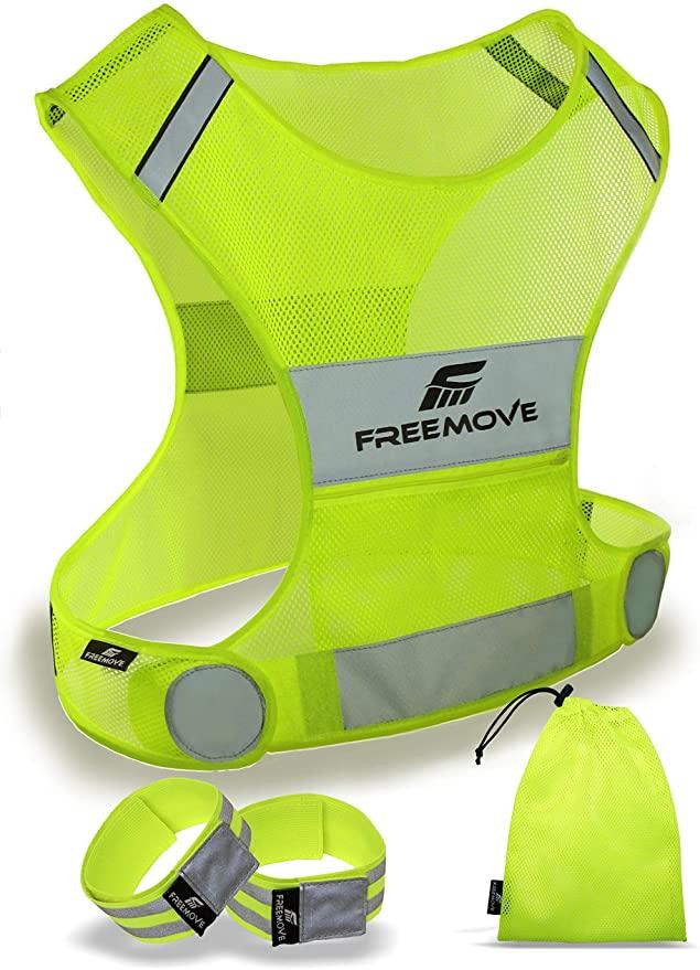 Freemove Reflective Vest Running Gear