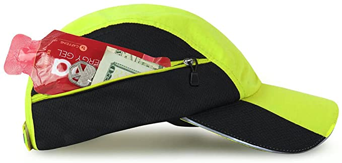 Gone For a Run Ultra Pocket Hat and Reflective Run Hat