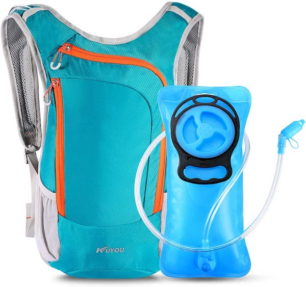 KUYOU Hydration Pack,Hydration Backpack with 2L Hydration Bladder Lightweight Insulation Water Pack