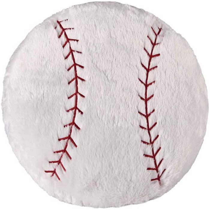 Ozzptuu Baseball Theme Stuffed Plush Throw Pillows