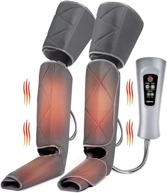 RENPHO Leg Massager with Heat, Compression Calf Thigh Foot Massage