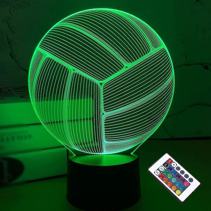 Volleyball 3D Night Light